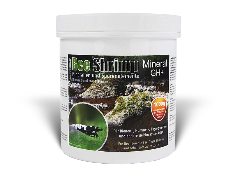 SaltyShrimp - Bee Shrimp Mineral GH+ 3000 g
