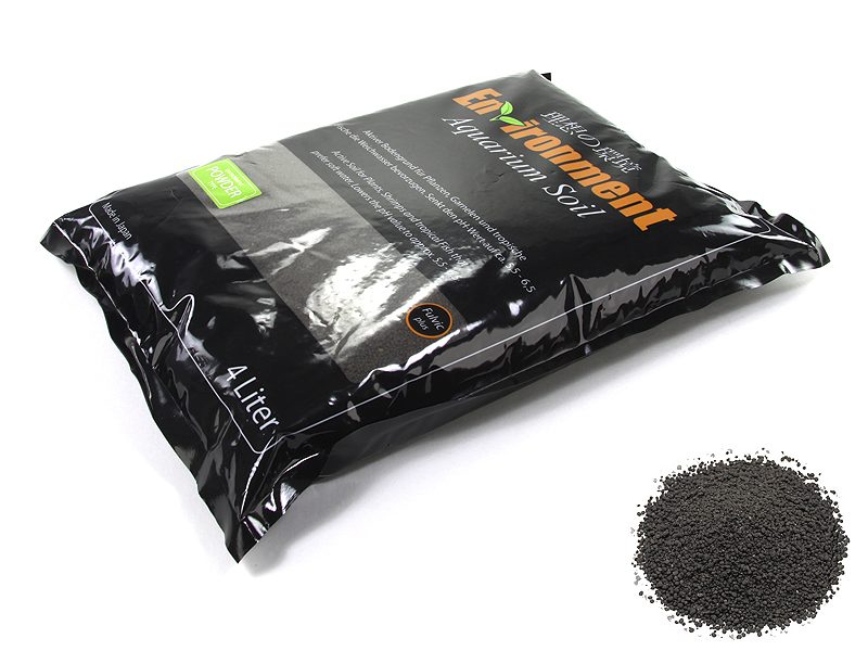 GlasGarten Environment Aquarium Soil 4l