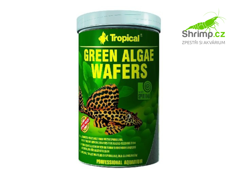 Tropical Green Algae Wafers 250 ml / 113 g