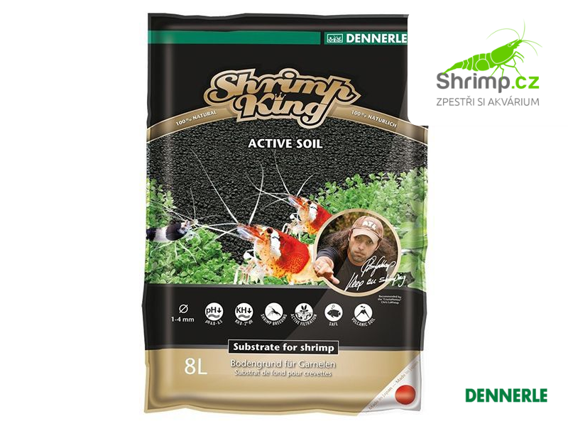 Dennerle ShrimpKing Active Soil 8 l