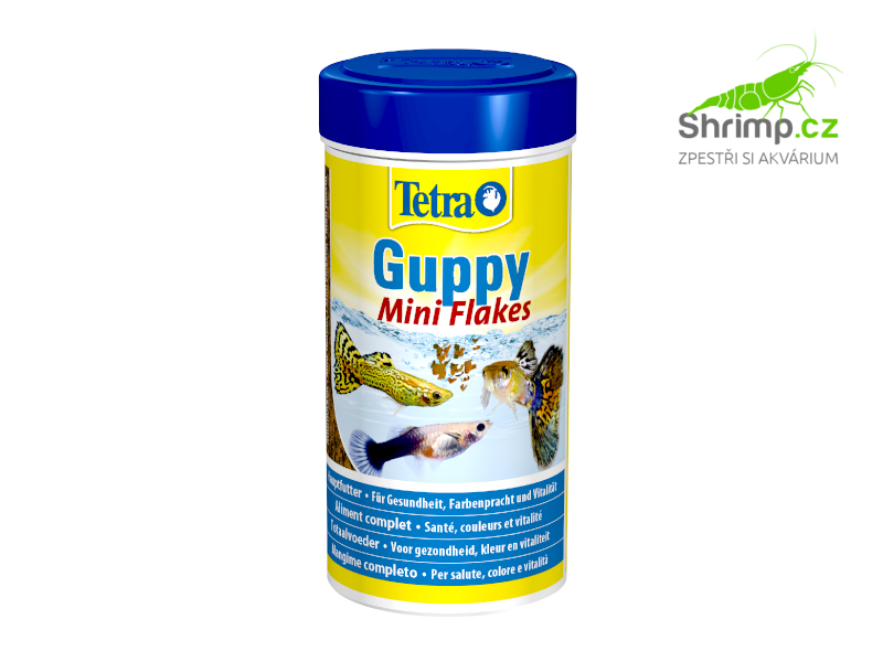 Tetra Guppy Mini Flakes 250 ml / 75 g