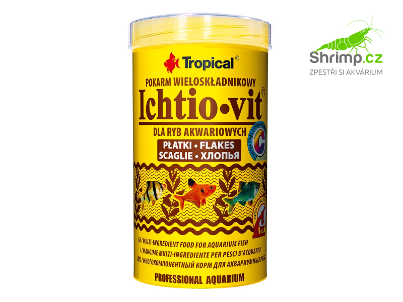 Tropical Ichtio-vit 500 ml / 100 g