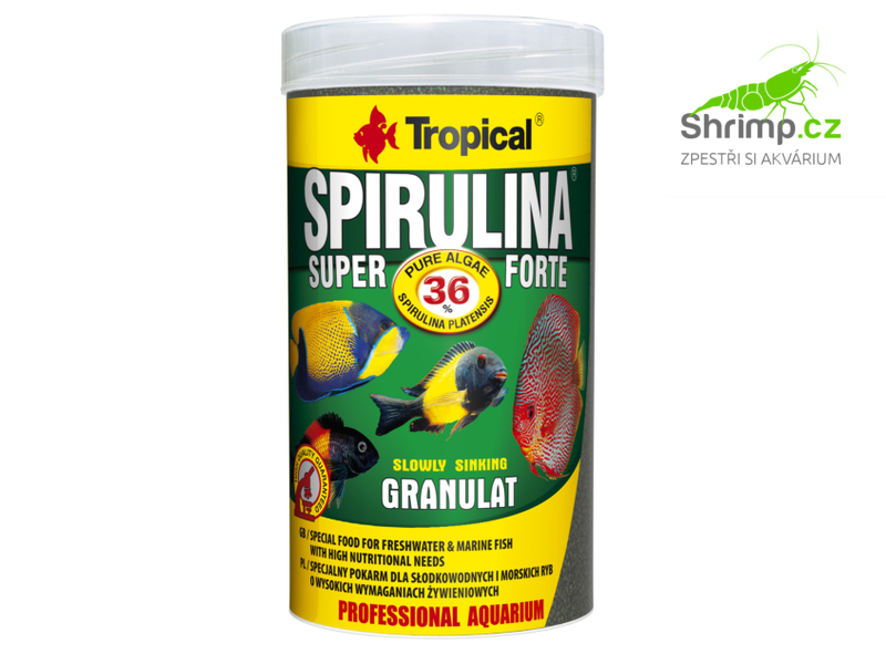 Tropical Spirulina Super Forte Granulat 250 ml / 150 g