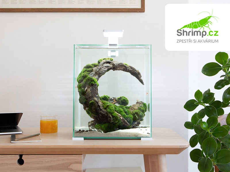 Akvarijní set AQUAEL SHRIMP Day & Night 10 bílé (10 l)